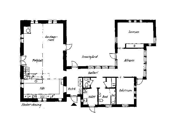 1700-talsstall förvandlades till ett modernt hem