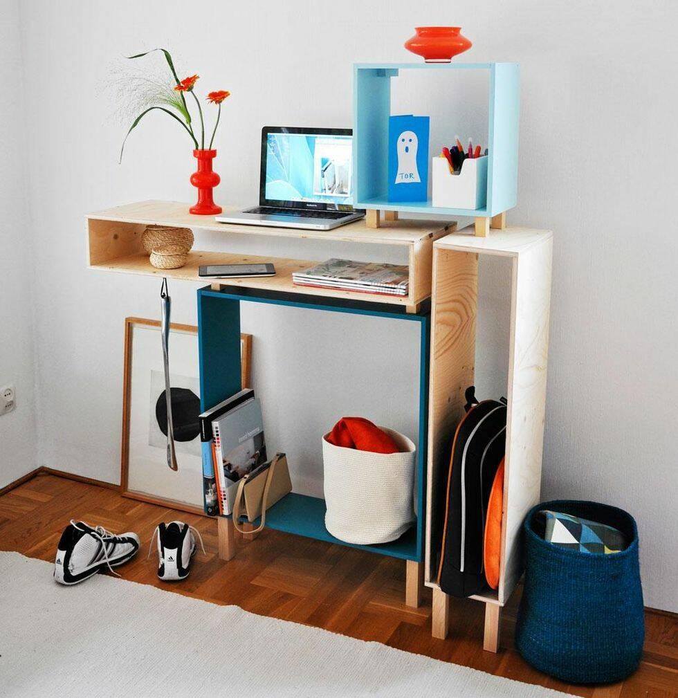Bygg en hallbänk med multifunktion