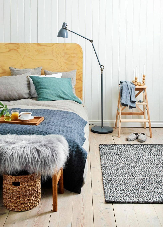 Ett sovrum – fyra stilar