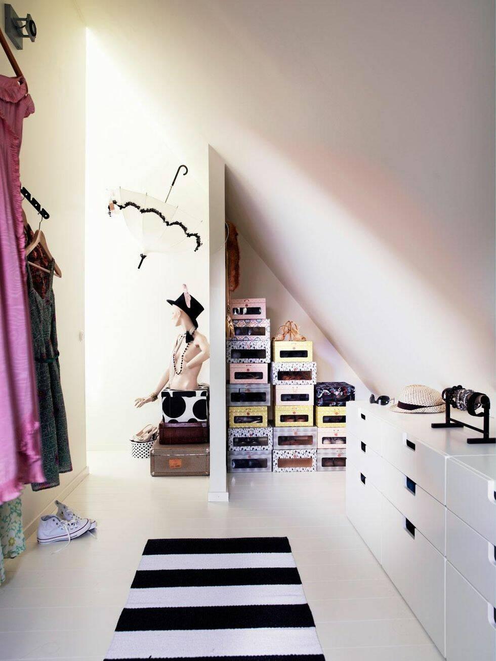 Vilken dröm med en egen walk in closet!