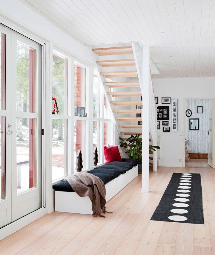 Falurött hus i Finland