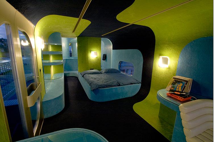 17 inspirerande hotellsovrum