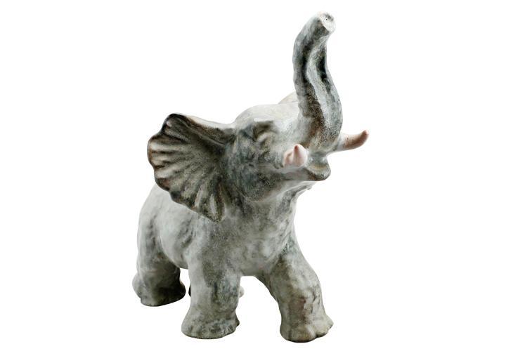Keramikelefanten av Vicke Lindstrand