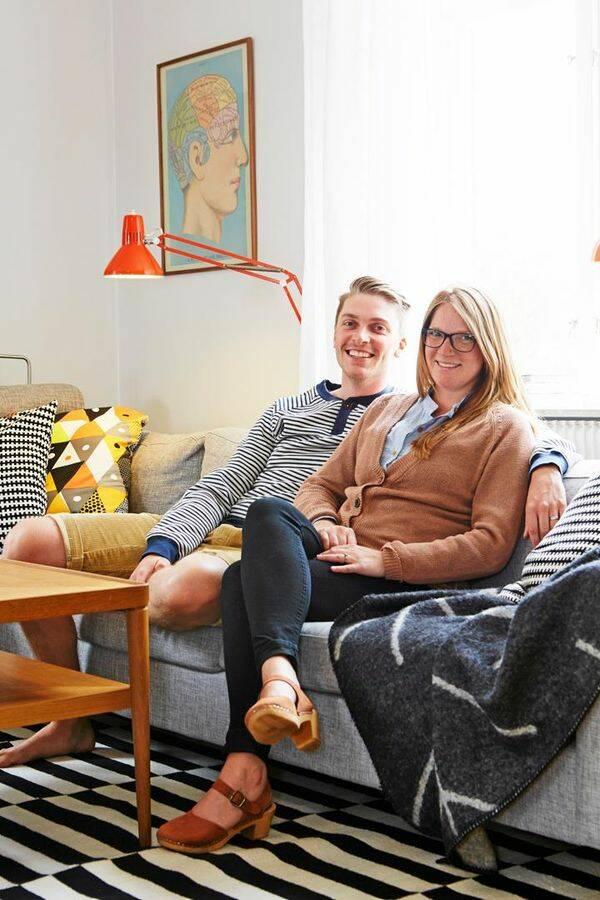Cecilia och Filip hittade sitt drömboende i den skånska 20-talsvillan