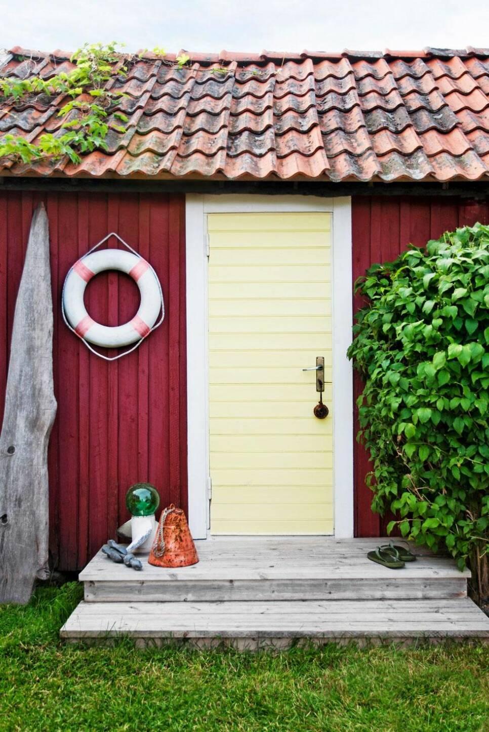 Gästhuset i Roslagens skärgård är en riktig liten pärla