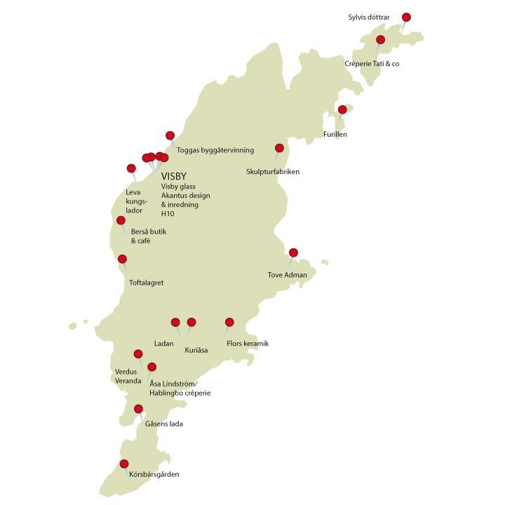 Din designguide till Gotland - 20 utflyktsmål