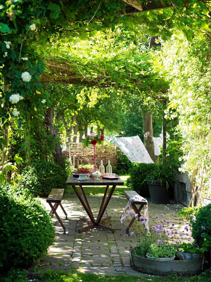 Trädgårdsskolan del 3: Trädgårdens rum