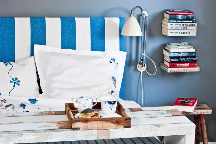 Gör en skönt stoppad sänggavel