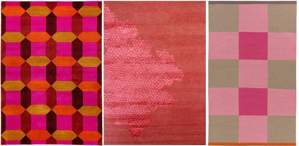 Mattor i tre färger
