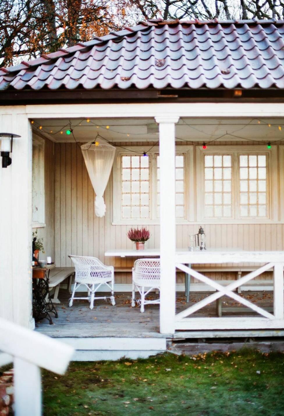 Pampigt parhus i Strängnäs