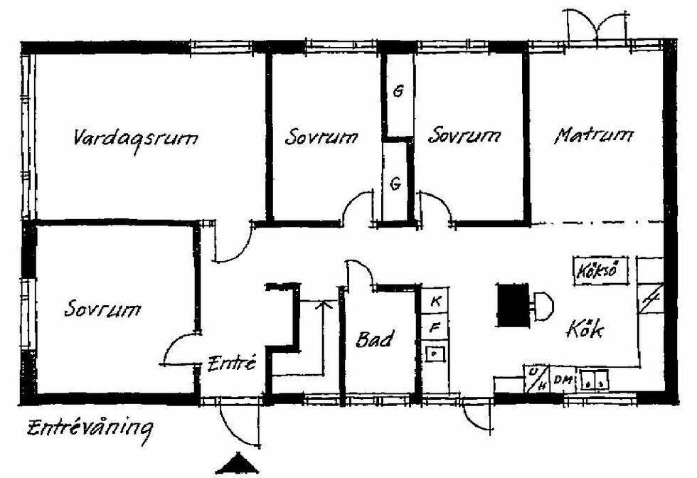 Flexibelt familjehäng i 60-talsvillan