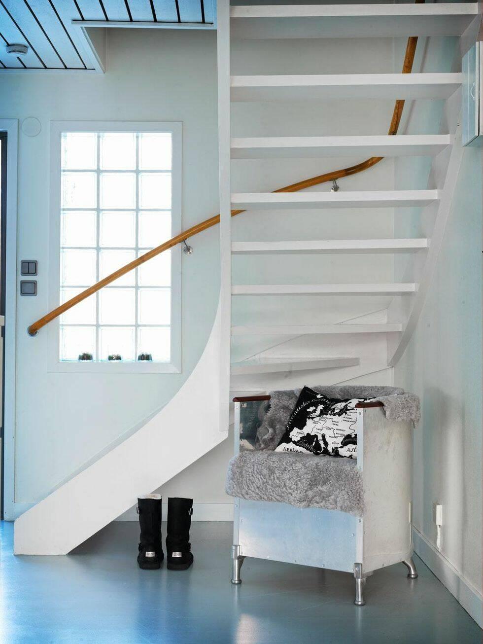 Måla om trappan