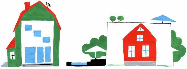 Bygga nytt hus eller köpa gammalt?
