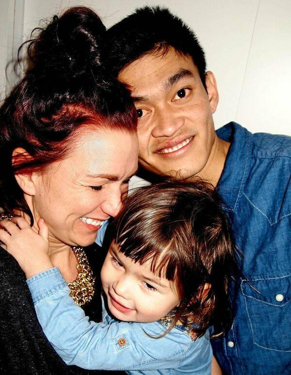 Familjen Billberg har inrett med gröna fingrar och liten plånbok
