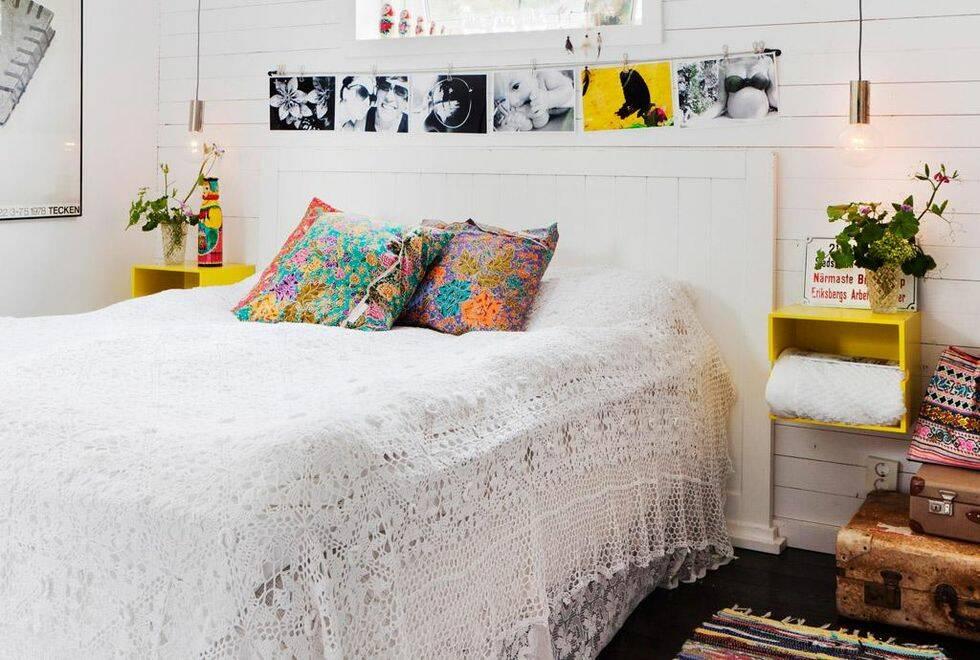 Snickra en snygg sänggavel av råspont