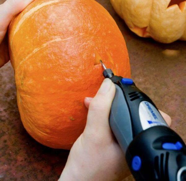 Gör snyggaste pumpan till halloween