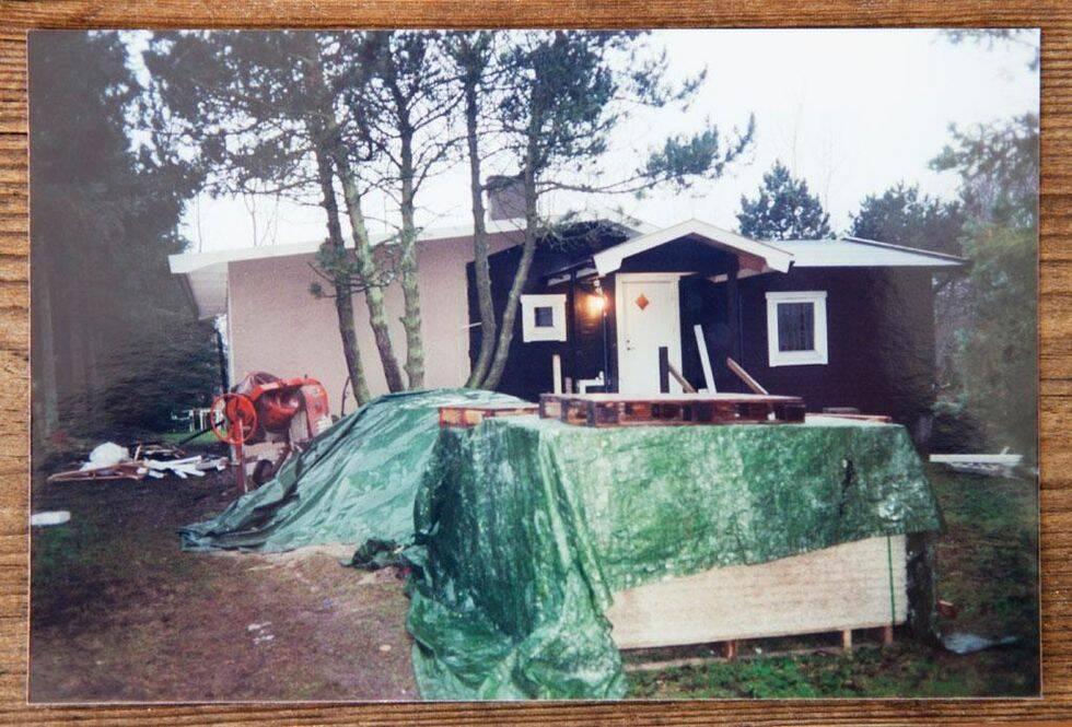 Fritidshuset som förvandlades till familjevilla