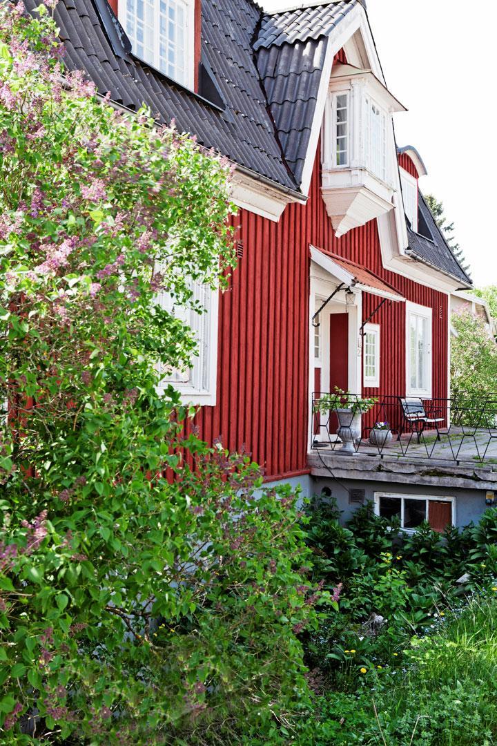 Varsamt renoverad grosshandlarvilla