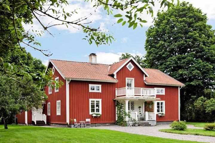 Lantlig charm i ljusaste Småland