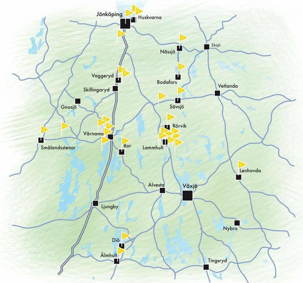 Småland – Sveriges möbelhjärta