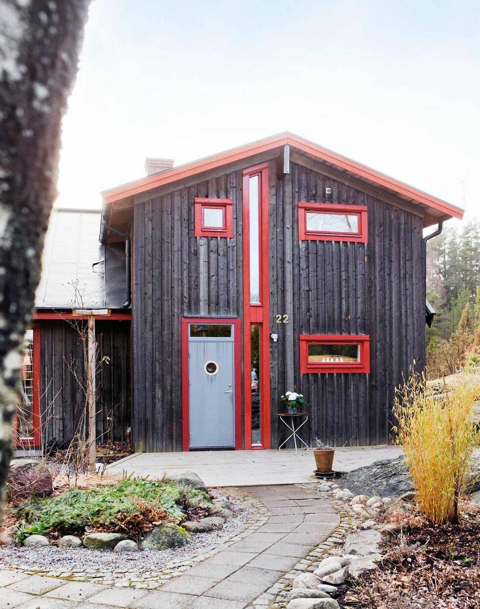 Naturen har format huset