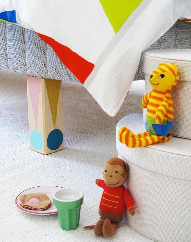 10 roliga idéer för barnrummet