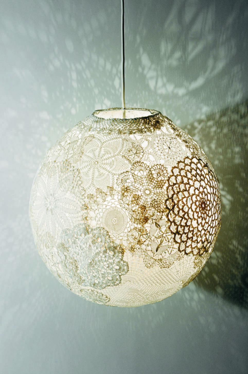 Lampa av loppisdukar