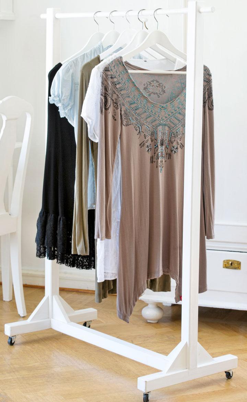 Bygg en rullande klädställning