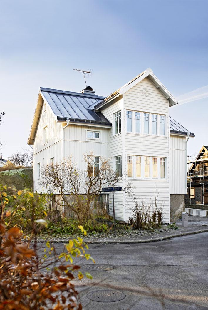 Göteborgsvillan som räddades från förfallet