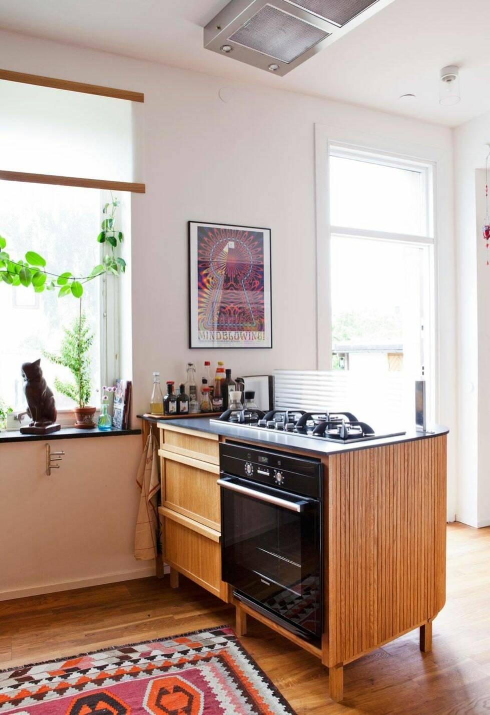 Ett kök skräddarsytt in i minsta detalj