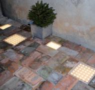En ljus idé - lysande markplattor