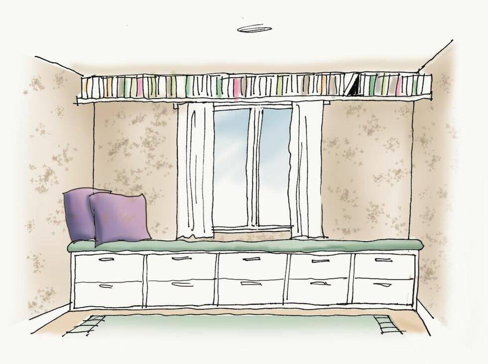Fixa förvaringen i sovrummet