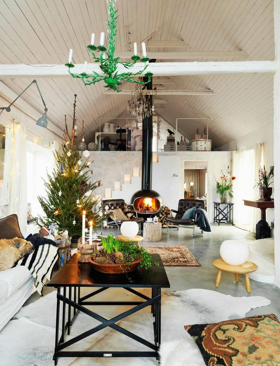 Jul med naturlig charm
