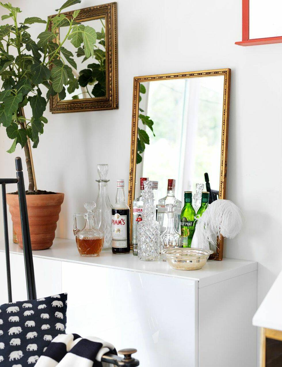 Förnya vardagsrummet – grafiskt och stilrent