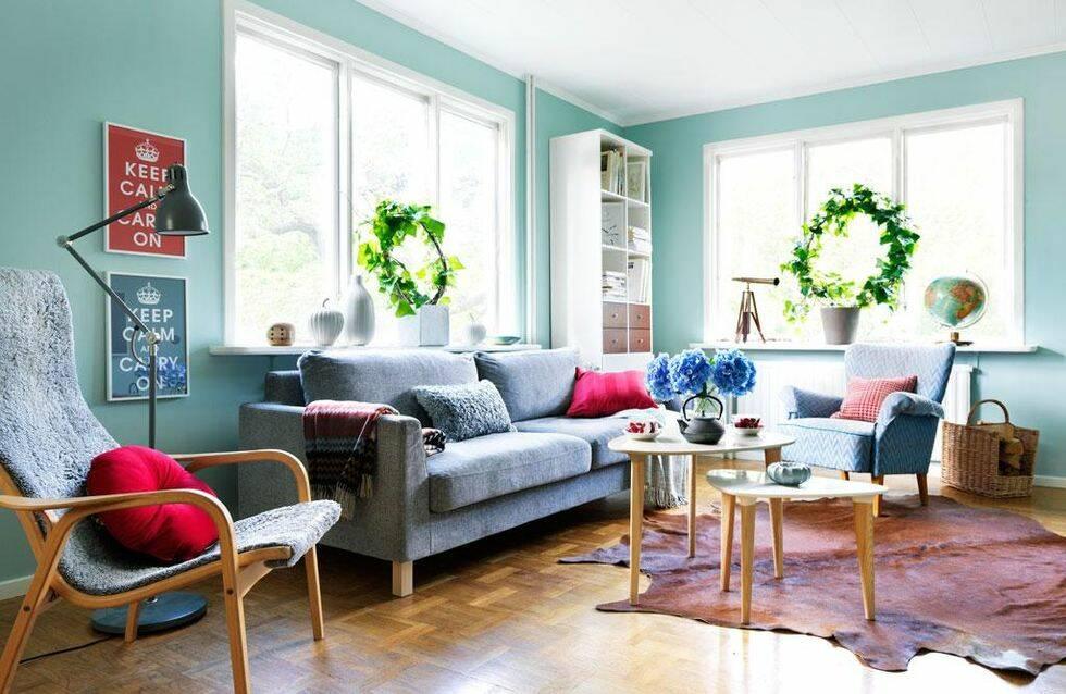 Förnya vardagsrummet – klassiskt retro