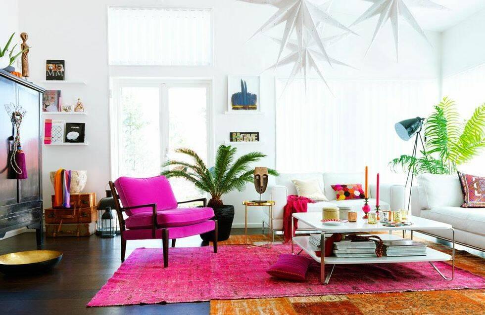 Förnya vardagsrummet – orientaliskt och färgstarkt