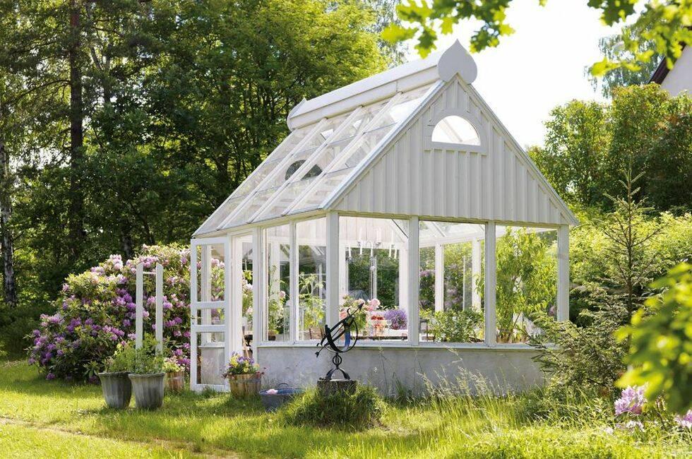 Växthuset blev ett lusthus
