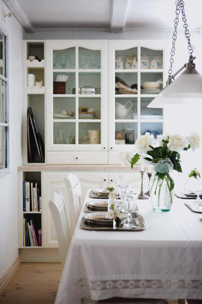 Drömköket är lantligt och vitt