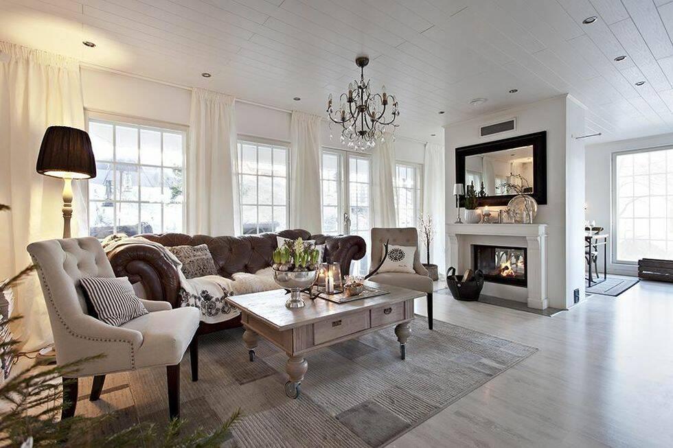 6 sätt att få ditt vardagsrum att se dyrare ut