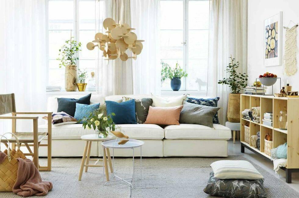 6 experttips på hur du förändrar ditt vardagsrum med textilier