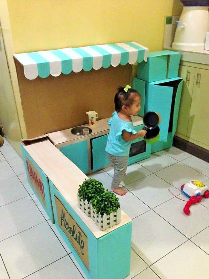 Här är DIY-leksaksköket som gör dig till världens bästa förälder