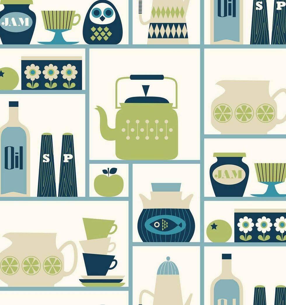 10 tapeter som ger ditt kök nostalgiska vibbar