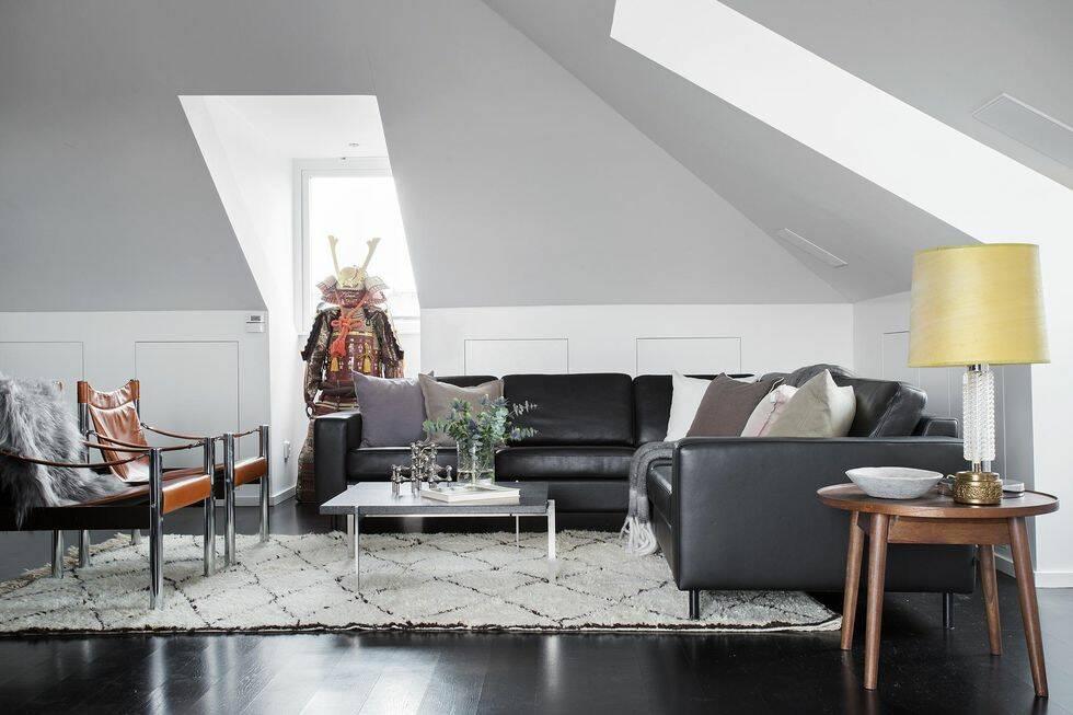 Så här ser det ut i svenska stjärnans lyxiga lägenhet