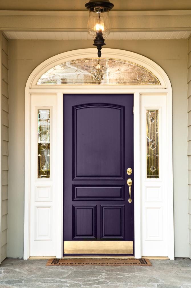 13 färgglada ytterdörrar som ger ett riktigt varmt välkomnande