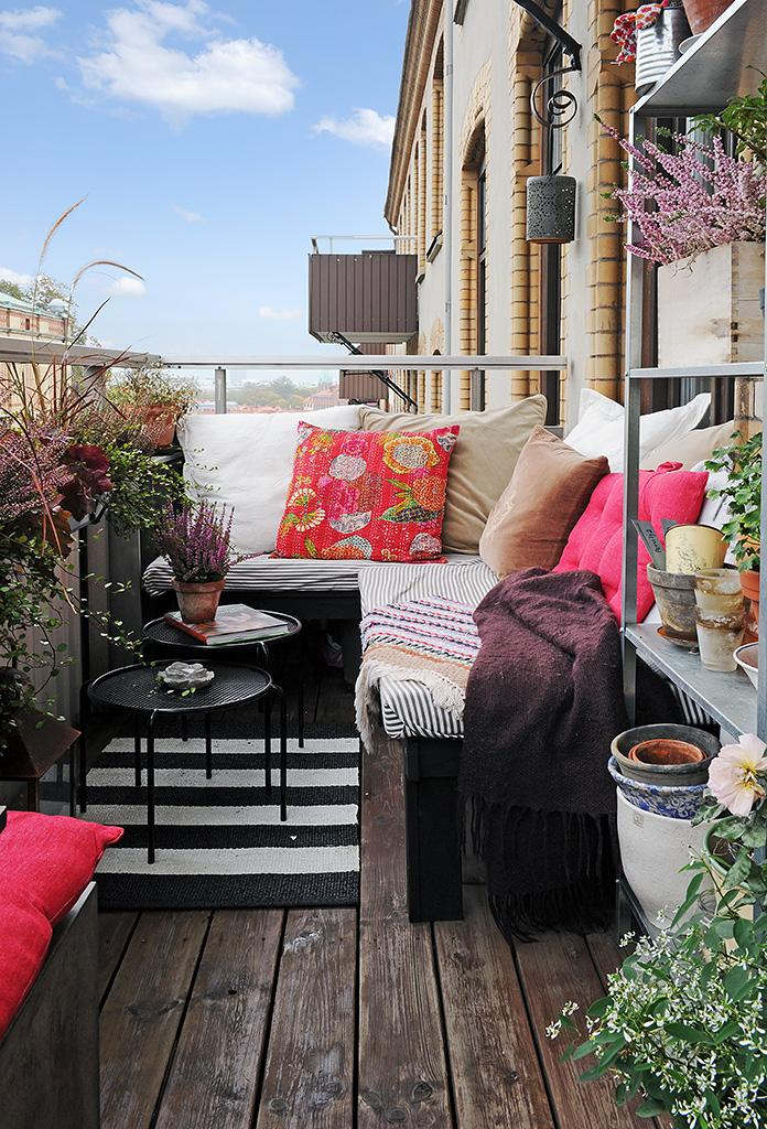 11 härliga balkonger att inspireras av i vår
