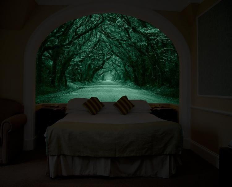 Planscher som lyser i mörkret ska ge dig drömutsikten