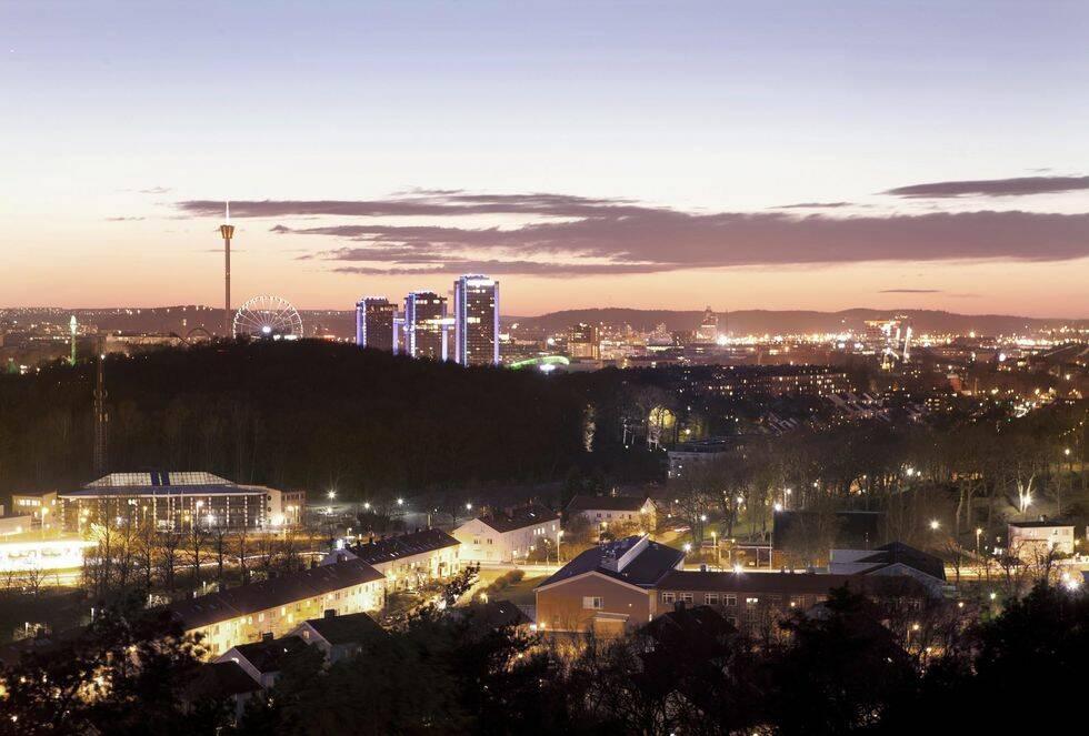 Klickraket från Hemnet: Fantastisk utsikt över Göteborg