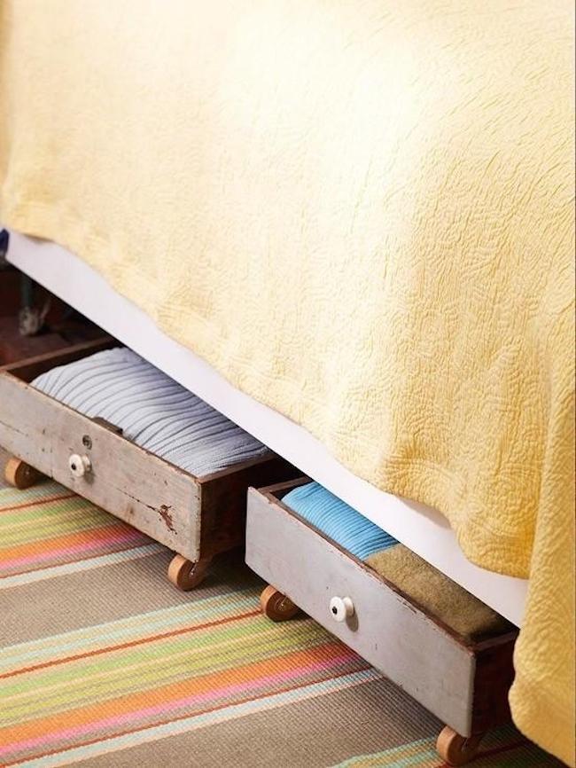 11 lösningar för dig som inte har plats för en garderob i sovrummet