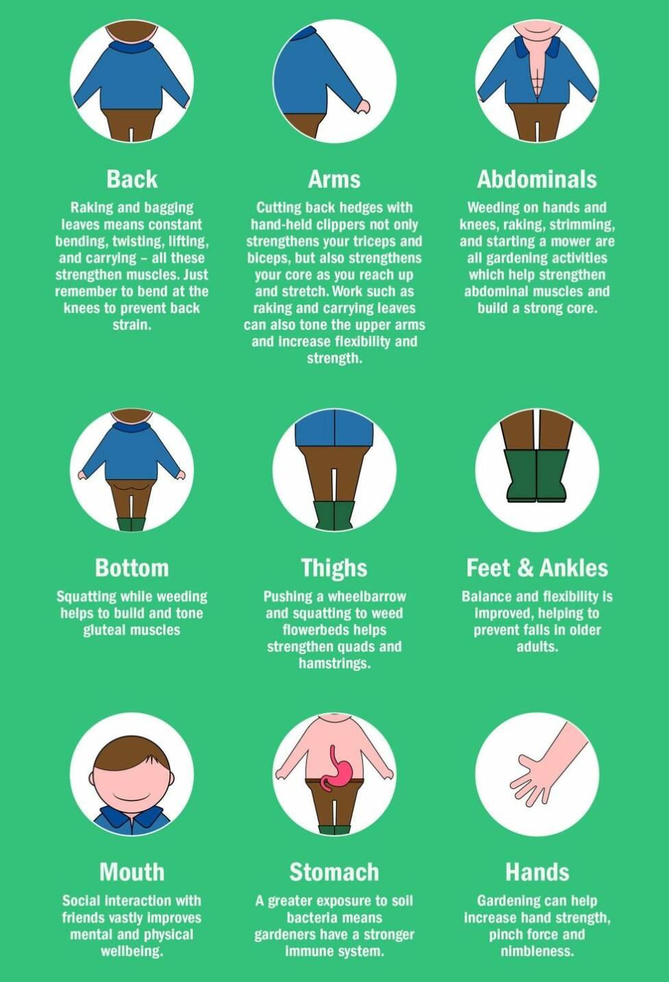 Så här påverkar trädgårdsarbete din kropp och hälsa