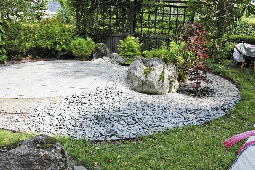 Så lägger du en stenrundel i trädgården
